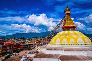 Čudovita Bodnath stupa