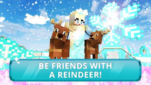 Ice Princess Craft:u2744ufe0f Icy Crafting & Building 1.0 screenshots 3