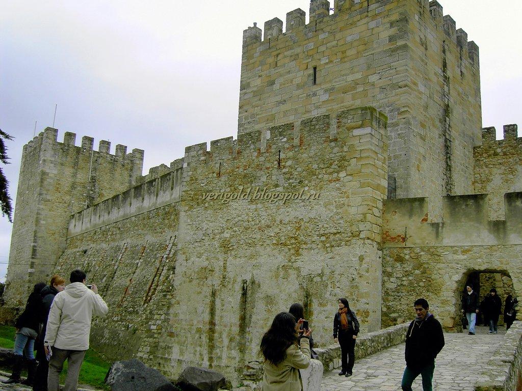Башня Улисса в крепости Святого Георгия