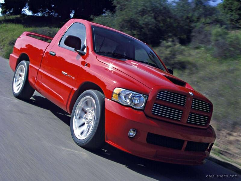 2004 dodge ram pickup 1500 srt 10 specifications pictures prices. Black Bedroom Furniture Sets. Home Design Ideas