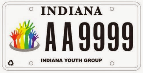 Decoding The Indiana Youth Group License Plate