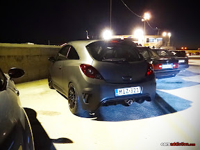 MAtt Black Opel Corsa