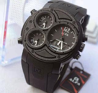Jual Jam Alfa 047 rubber