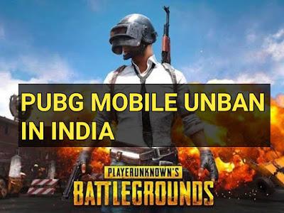 PUBG Unban Till 15 November In India