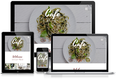 Cafe Restaurant Free AMP HTML Template