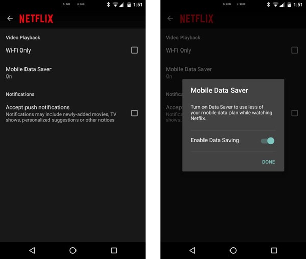 Netflix Announces Data Saver Feature For Mobile Devices