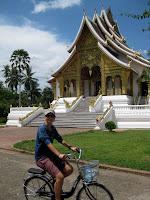 Biking around Luang Prabang