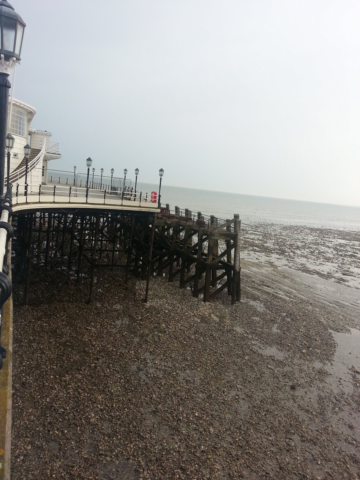 20140330 165511 4 Worthing Pier at low tide