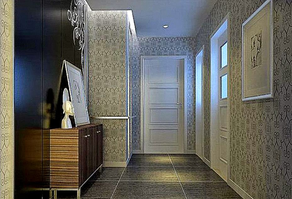 hallway wallpaper 2015   Grasscloth Wallpaper