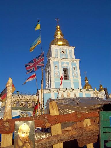 Отныне о наступлении Нового года будут извещать колокола Михайловского собора, - Порошенко - Цензор.НЕТ 4313