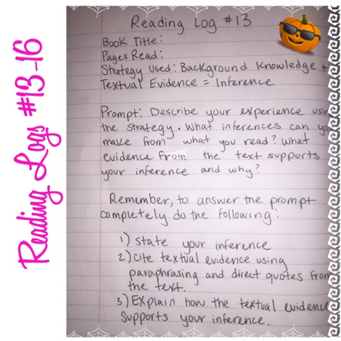 Reading logs: examples, lessons, and scaffolding | inclusive.