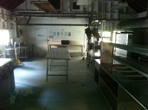 Photo: The kitchen inside the Dining Hall. For Cottington Woods, this will not be available for player use.