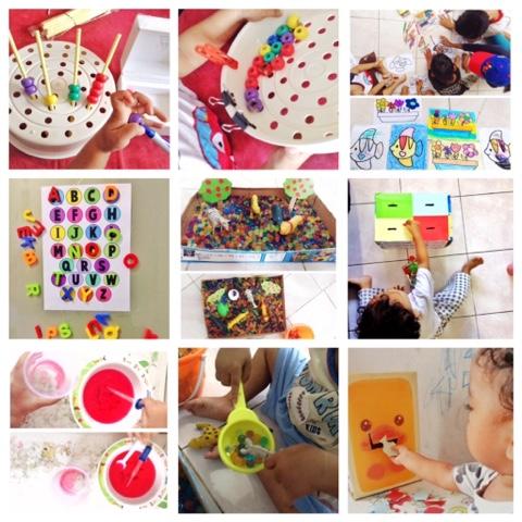 DIY Montessori anak