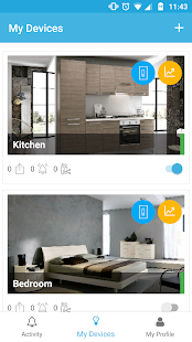 iotty Smart Home - náhled