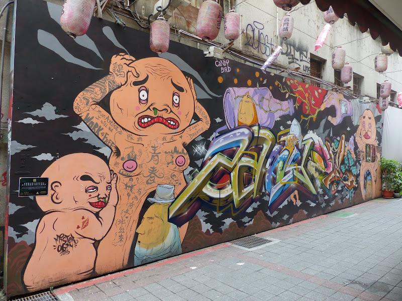Taipei. Street art à Ximen et Youth park - P1250138.JPG