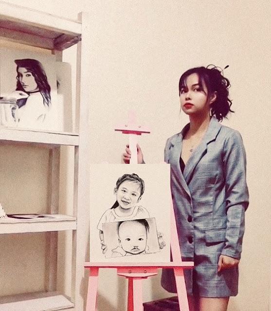 Baguio-based Artist, Riz Cabrera for Smile Train