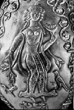 Anahita Persian Goddess Of Water Image