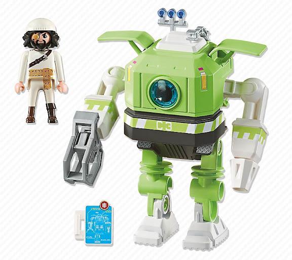 Contenido real de Playmobil® 6693 Cleano Robot