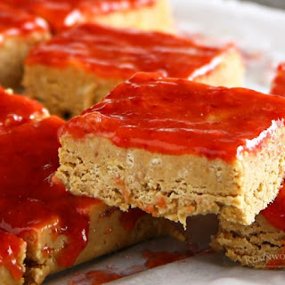 No-Bake Peanut Butter and Jelly Bars.