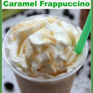Copycat Starbucks Caramel Homemade Frappuccino