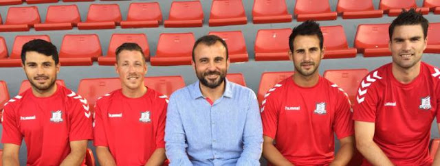 Moscardó - Adrià Granell - Toni Hernández - Barreda - Víctor Marco