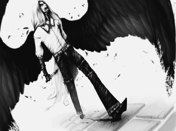 When Angel Tasted Flesh, Angels 1