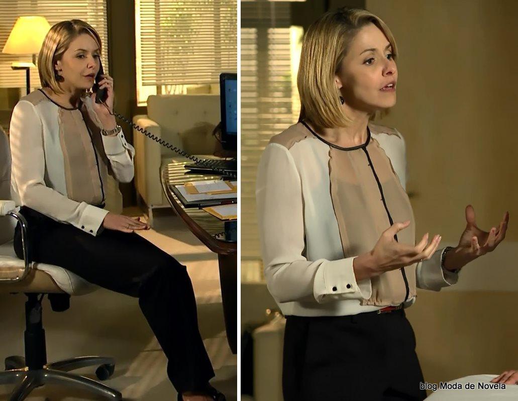 moda da novela Em Família - look da Silvia dia 4 de junho
