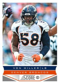2013 Score Von Miller Base Card