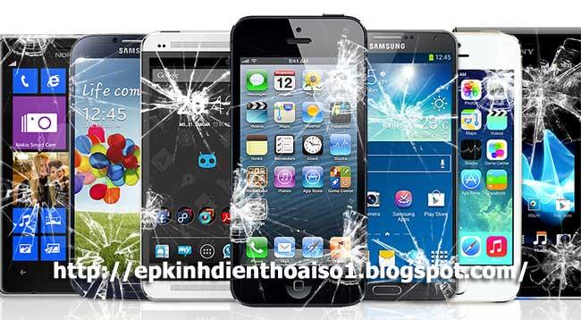 ép kính điện thoại Iphone Thái Nguyên