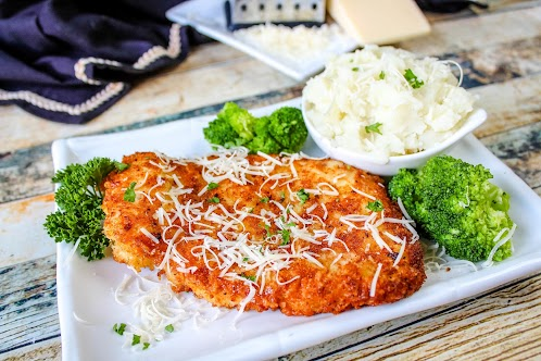 Parm Crusted Chicken / My Way