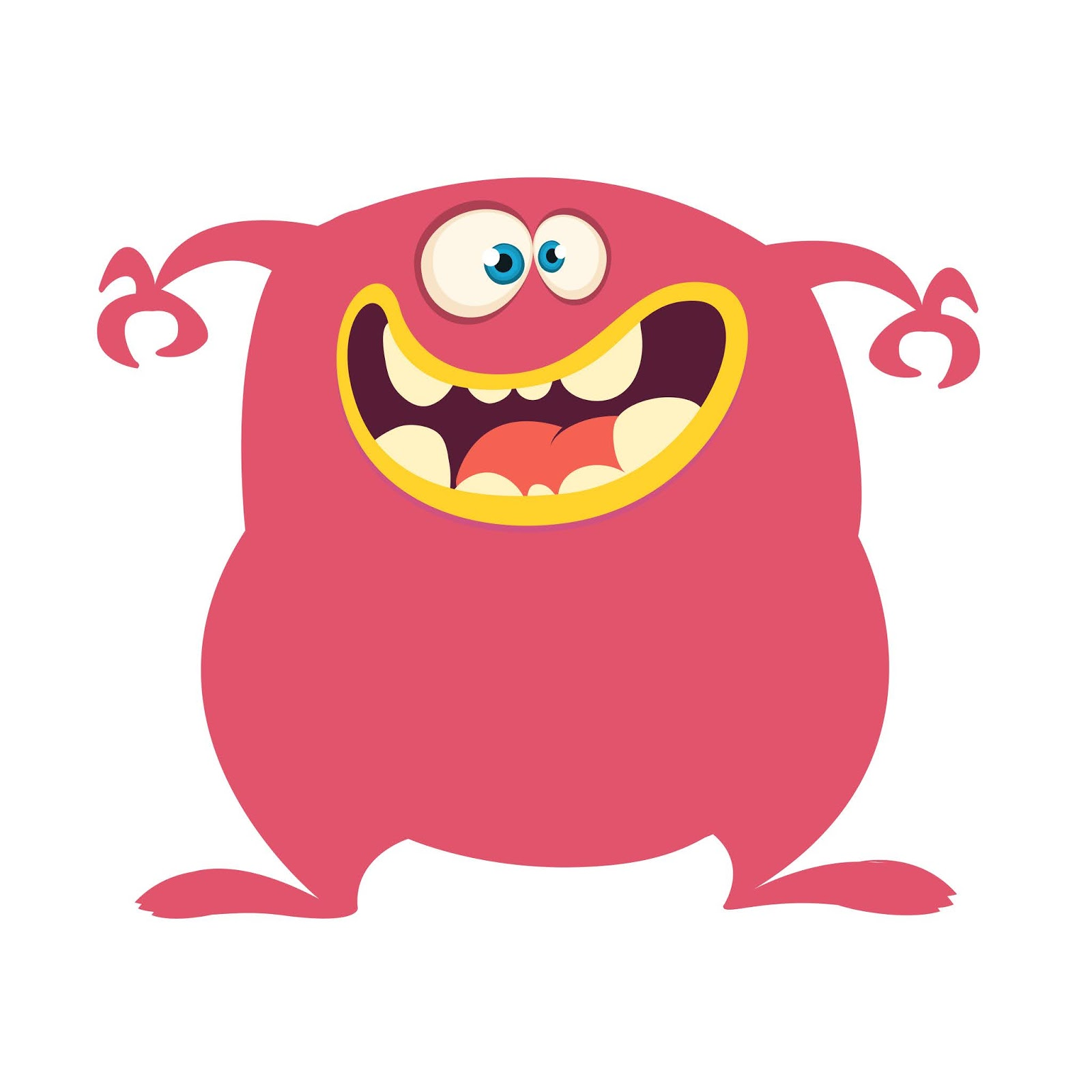 Monster Funny Style Free Download Vector CDR, AI, EPS and PNG Formats
