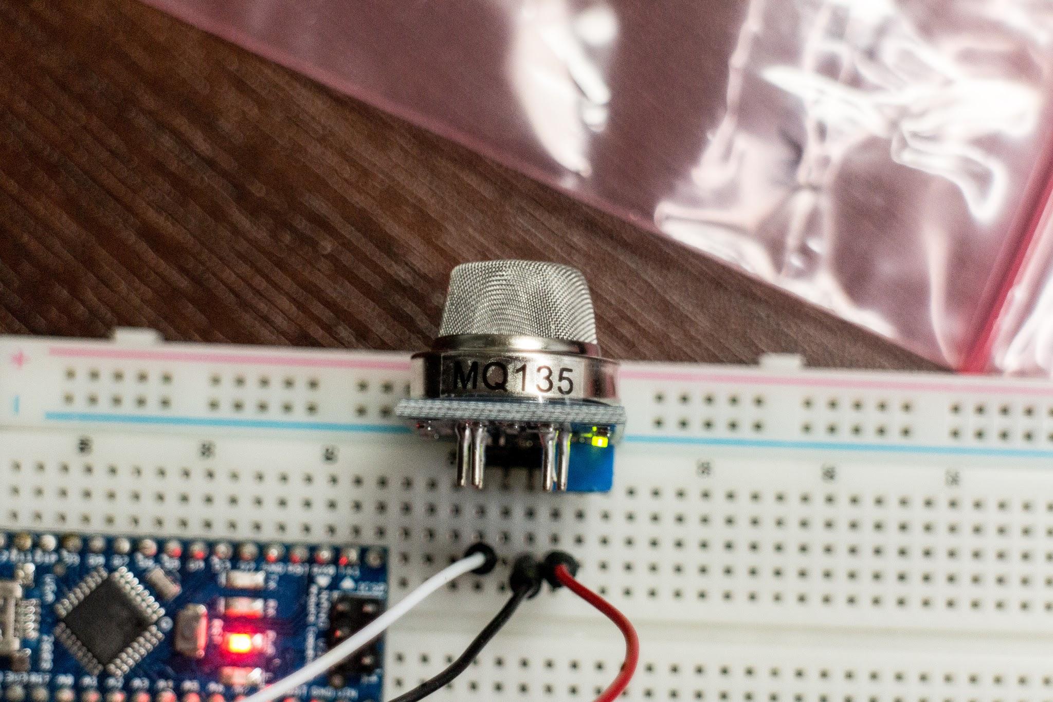 MQ-135 Sensor Air Quality Sensor Hazardous Gas Detection LM393 MQ135