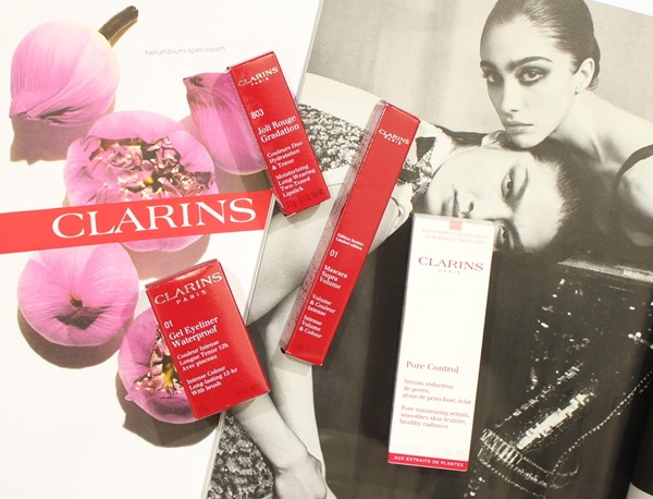 JoliRougeAndBlackClarins