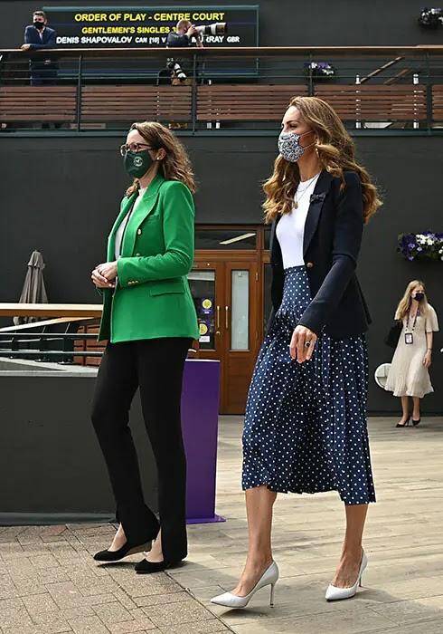 Kate Middleton Makes Surprise Appearance at Wimbledon