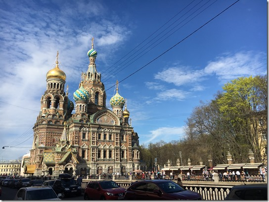 Church of the Saviour of the Spilled Blood, Saint-Petersburg