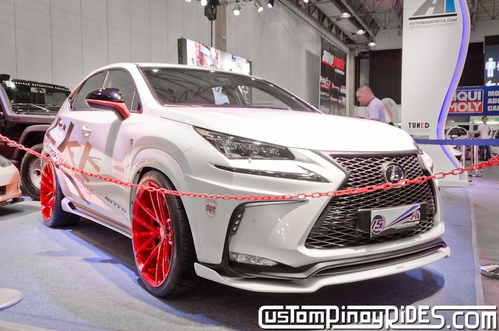 Lexus NX Modified Car SUV Custom Pinoy Rides Philippines DPE Wheels Car Kreative Technik Nitto Tires pic2