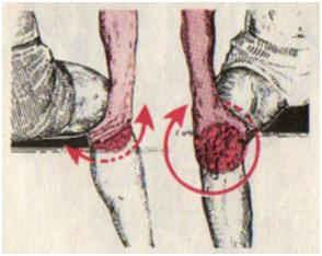 Мытье колен