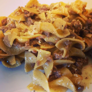 Spicy Ground Beef Stroganoff Recipe