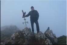 San Tirso mendiaren gailurra 1.333 m. --  2015eko abenduaren 24an