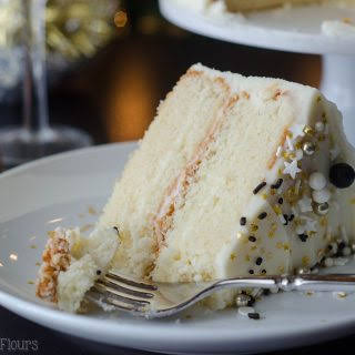 Champagne Layer Cake.