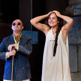 Pepa Gracia en el Festival de Mérida