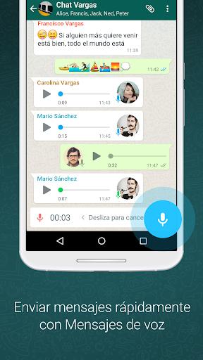 WhatsApp Messenger screenshot 4