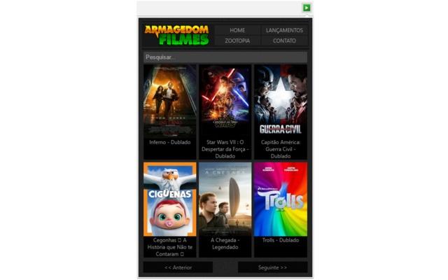 Armagedom Filmes - Assistir Filmes Online