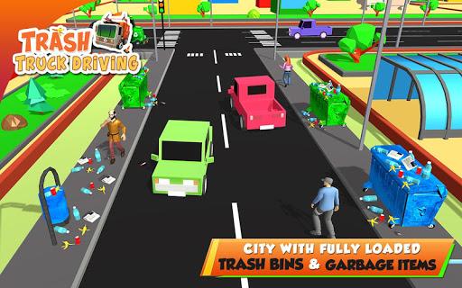 Urban Garbage Truck Driving - Waste Transporter 1 screenshots 12