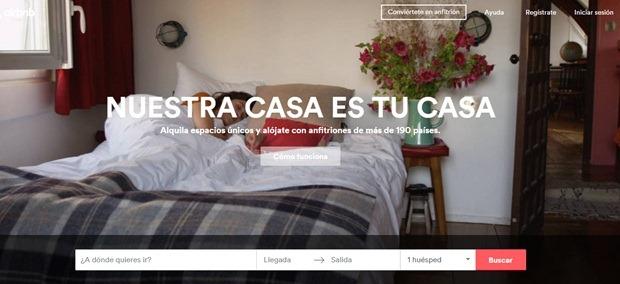 Abrir mi cuenta en Airbnb