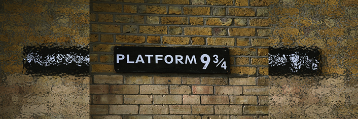 platform 934 harry potter
