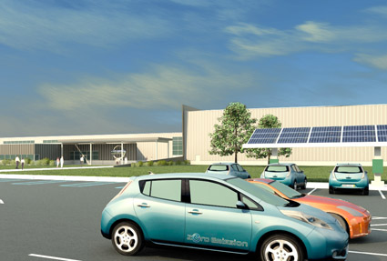 Nissan Taps Solar Energy