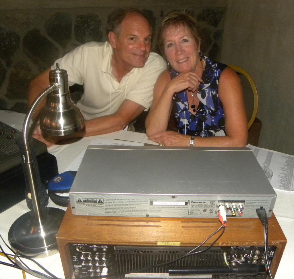 Rick and Chris Bond Saturday Night DJs