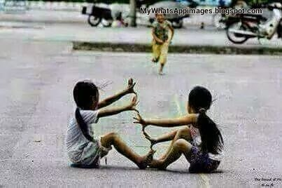 Punjabi Childhood Games Beautiful Image