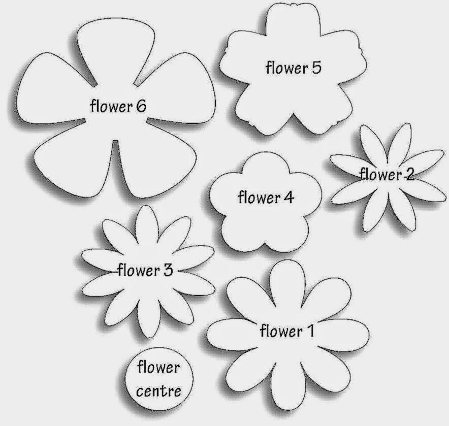 Flower Template Download Best Free HD Wallpaper - flower template